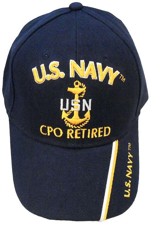 US Navy CPO Retired SKU 660
