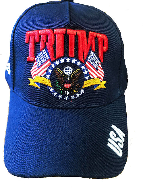 Trump Presidential Seal Blue SKU 670