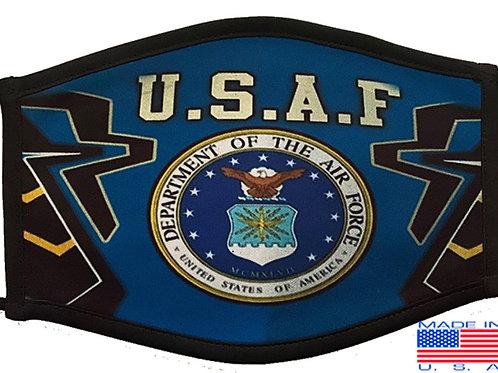US Air Force Black Mask 2061