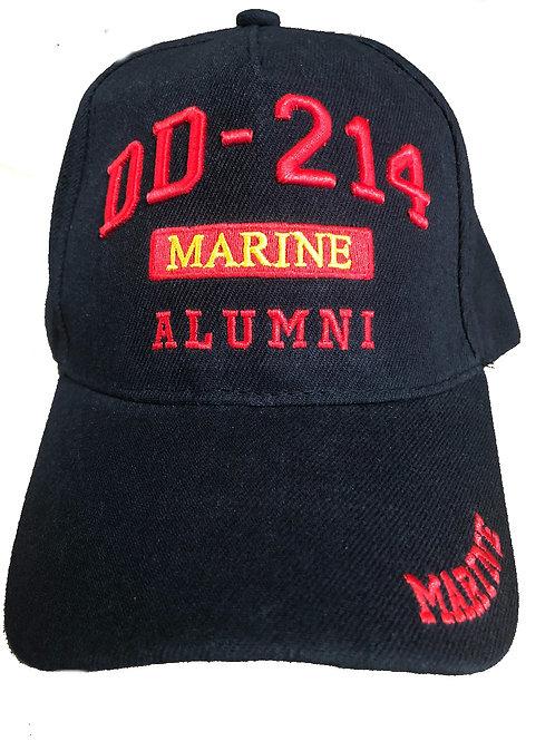 Marine DD-214 ALUMNI Camo SKU 983