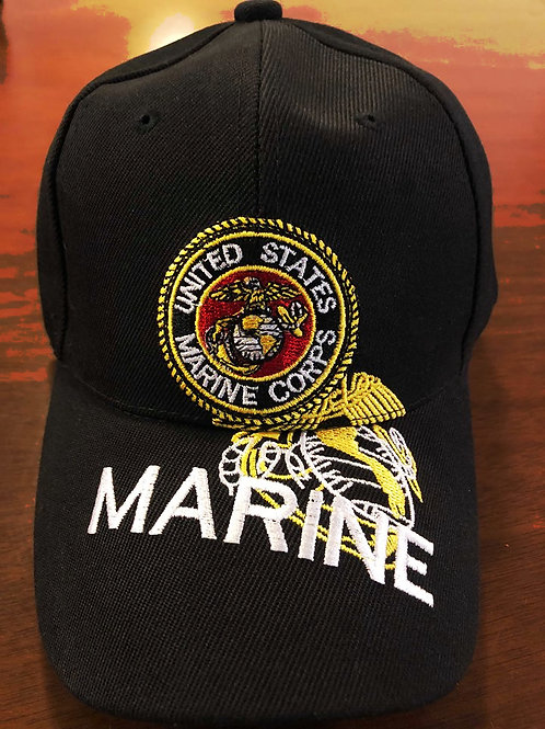 12 US Marines Hats SKU 418 Only $3 Each