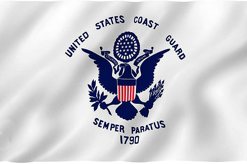 US COAST GUARD FLAG SKU 2006