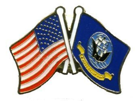 US flag/ Navy SKU 1037