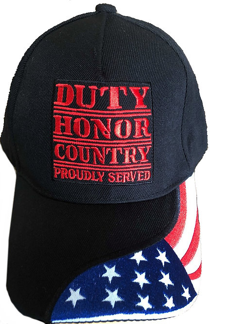 Duty Honor Proudly Served SKU 706
