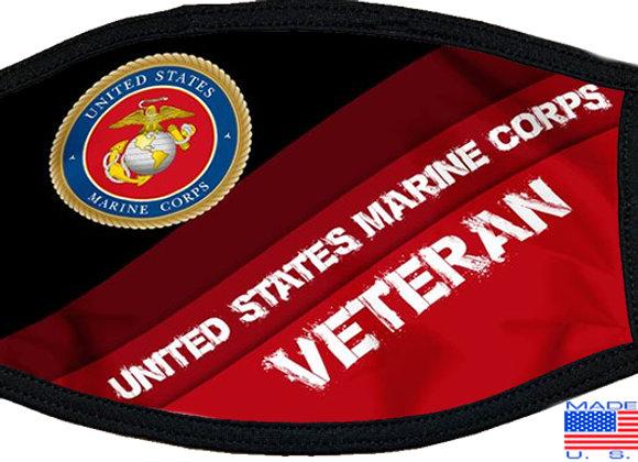 USMC Veteran Mask $4.50 Each (Dozen)
