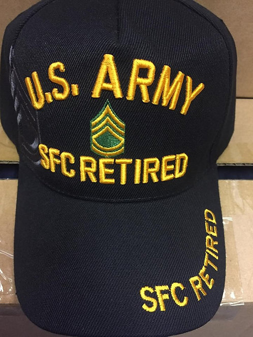 Army SFC Ret SKU 060