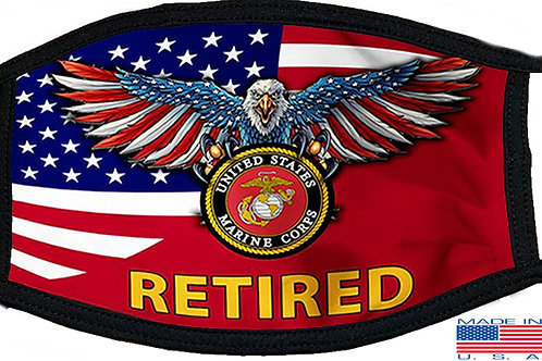 Retired Marine Black Mask 2140