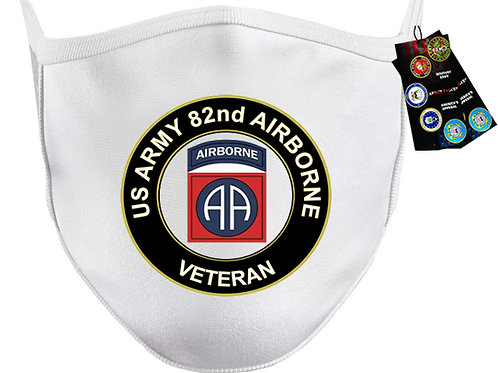 US Army 82nd Airborne Mask SKU 1516