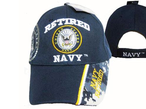 US Navy Retired Vet SKU 499
