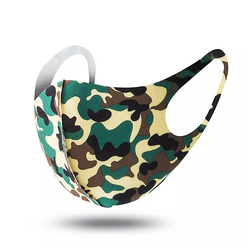 12 PCS $1.50 Each Camo Military Mask(Dozen) SKU 1560