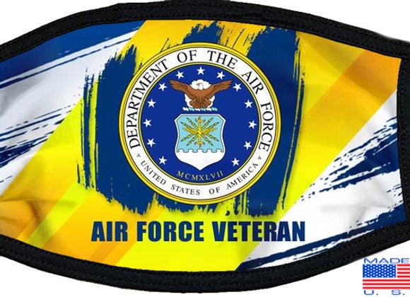 Air Force Veteran Mask $4.50 Each (Dozen)