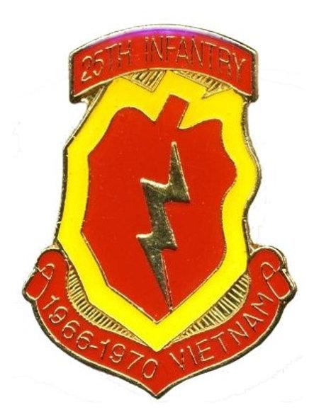 25th Infantry, 1966 - 1970 Vietnam SKU 1109