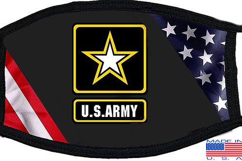Army Flag Black Mask 2086