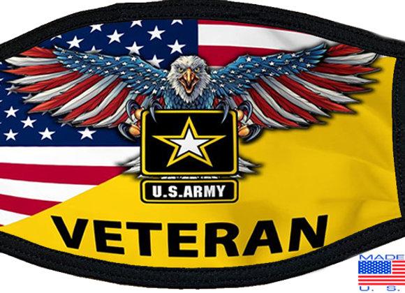 US Army Veteran Mask $4.50 Each (Dozen)