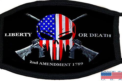 2nd Amendment Black Mask 2131