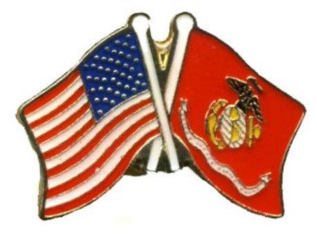 US flag/ Marines flag SKU 1039