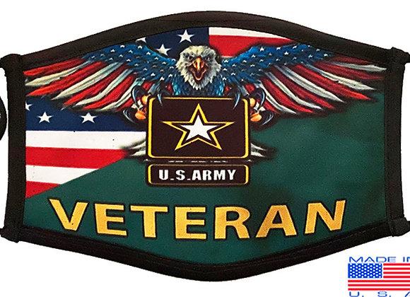 Army Veteran Mask $4.50 Each (Dozen)