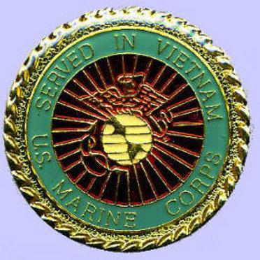 Served in Vietnam USMC SKU 1054
