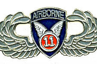 11th Airborne Division Wings SKU 1075