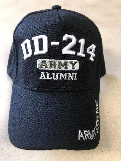 Army DD-214 Alumni SKU 750