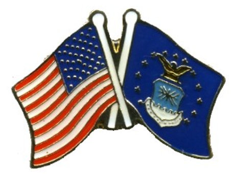 US flag/ Air Force SKU 1038