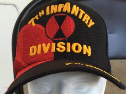 7th Infantry Div SKU 166