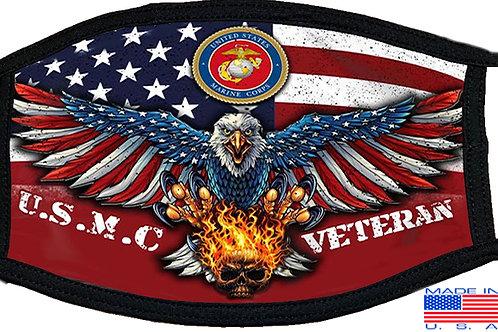 USMC Veteran Black Mask 2084