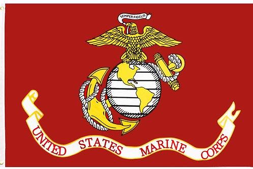 US MARINE FLAG SKU 2004