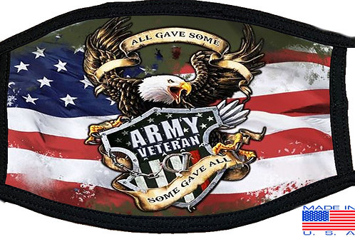 US Army Veteran ⓒ Veteran Black Mask 2074