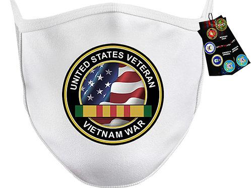 US VietnamVeteran Mask SKU 1514
