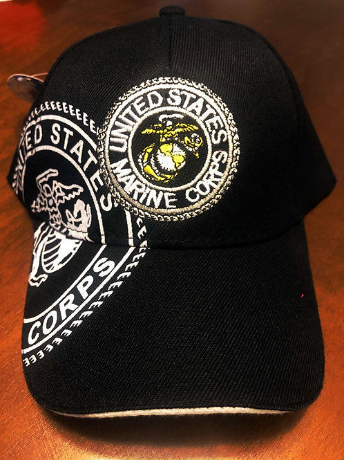 12 US Marines Hats SKU 799 Only $3 Each