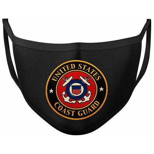 Coast Guard Veteran Black Mask 2060