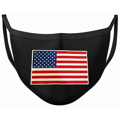 Flag Black Mask SKU 2051