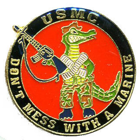 USMC - Don't Mess With A Marine SKU 1114