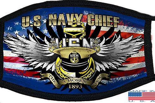 US Navy Chief Black Mask 2135
