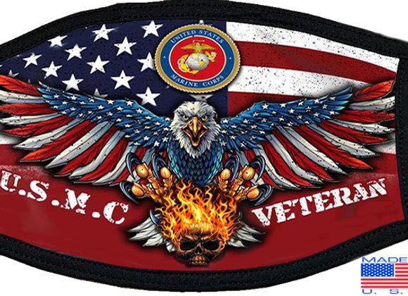 US Marine Veteran Mask $4.50 Each (Dozen)