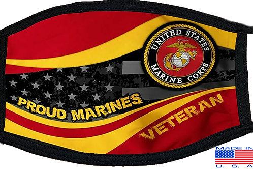 Marine Veteran Black Mask 2081
