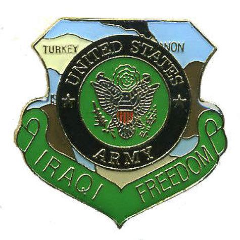 Iraqi Freedom Us Army SKU 1052