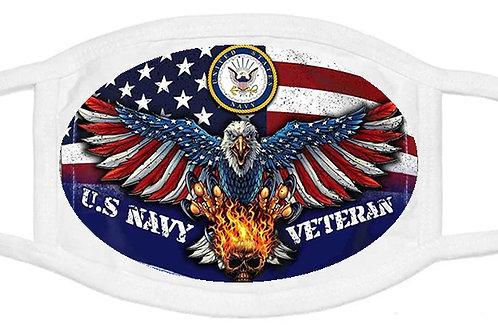 NAVY Veteran Mask  SKU 1540