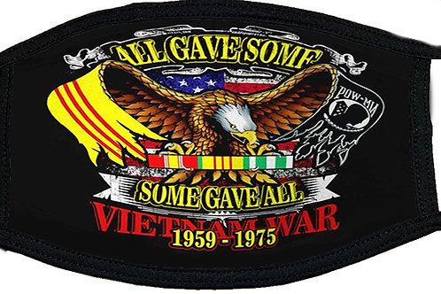 All Gave Some Vietnam Black Mask 2102