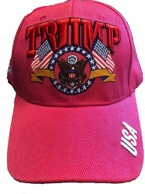 Trump Presidential Seal Pink SKU 672