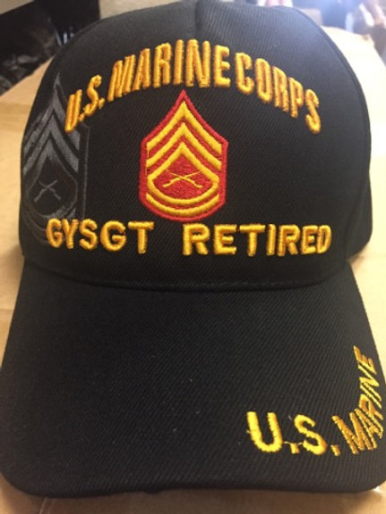 Marine GySgt Ret SKU 262