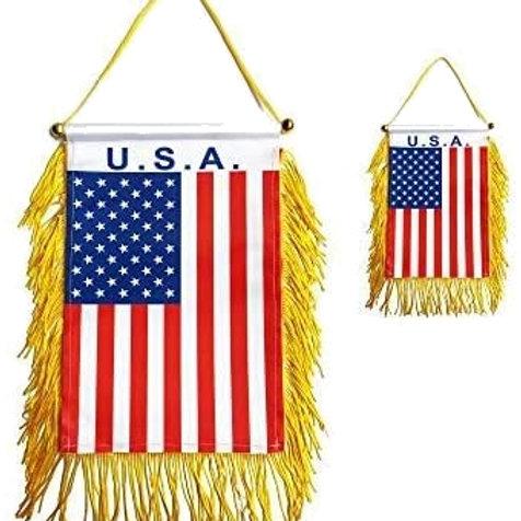 American Flag Car or home Style $1.25 Each(Dozen) SKU 2054