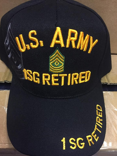 Army 1SG Ret SKU 090