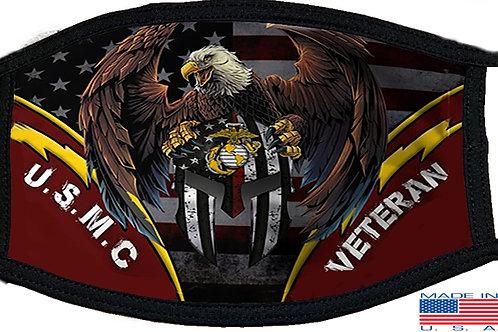 USMC Veteran Black Mask 2145