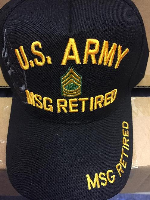 Army MSG Ret SKU 059