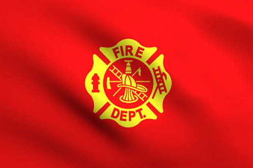FIRE DEPT. FLAG SKU 2005