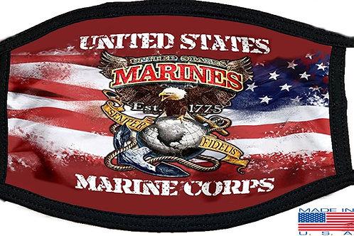 US Marine Corps Black Mask 2148