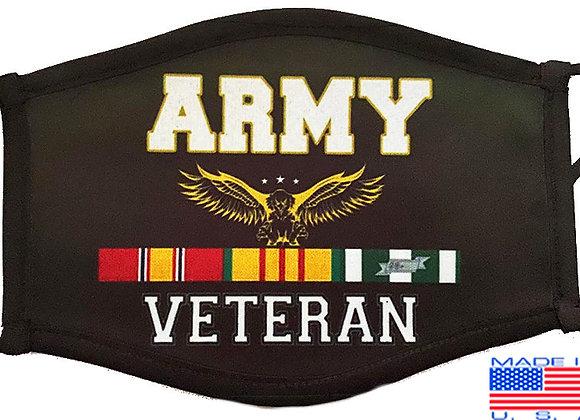Army Veteran Mask $4.50Each (Dozen)