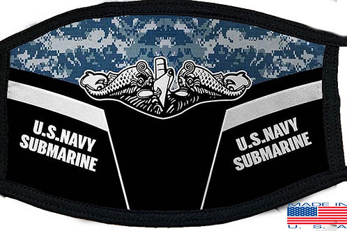 US Navy Submarine Black Mask 2133